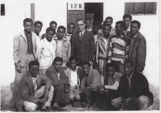 Calss of 1965 with Mr. Gagnier