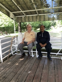 Father Turenne & Dr. Moges Gebremariam, Richelieu, Canada, August 2018