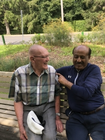 Brother Remi Laforest & Dr. Moges Gebremariam