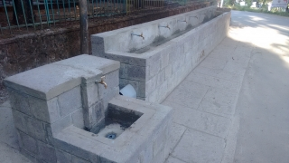Restored TMS Water Fountain